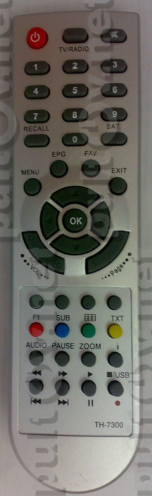 Для спутниковых ресиверов / Technosat TH-7300 , Sat-Integral TH-7200 PVR пу